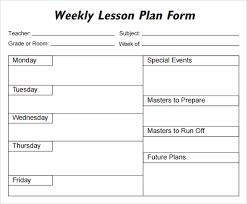 lesson plan template 1 organization pinterest lesson plan