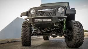 jeep jk led light bar 2007 2017 jeep jk venom front bumper off road bumpers