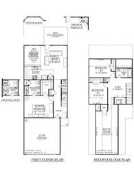 narrow lot design study could become a 1st floor bedroom if