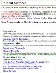 how to register montana state online montana state university