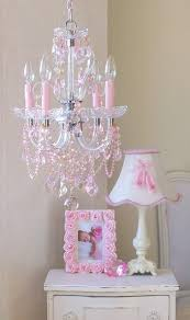Pink Chandelier Light Best 25 Girls Room Chandeliers Ideas On Pinterest Girls