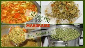mayotte cuisine recette mahoraise i rou ambatri sauce de petit pois en français et