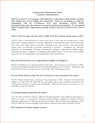 Examples Of Resume Objective by Download Criminal Justice Resume Objective Examples