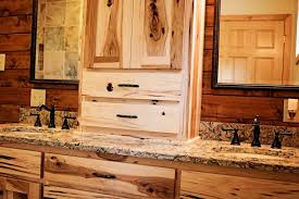 Amish Kitchen Cabinets Kitchen Remarkable Handmade Hickory Cabinets And Cambria