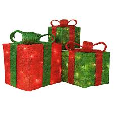 lighted christmas present boxes christmas present decoration my web value