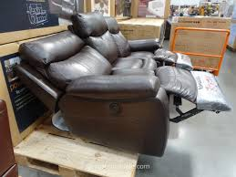 pulaski leather sofa costco spectra dakoda power motion leather sofa
