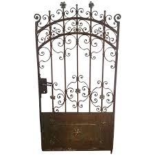 wrought iron doors and gates 116 for sale at 1stdibs