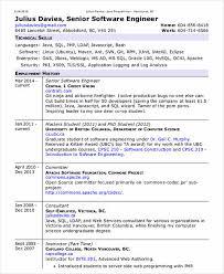 Php Developer Resume Software Developer Resume Samples Computer Science Resume Format