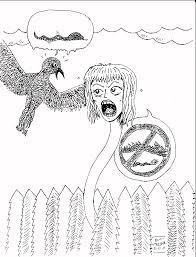 hyaena gallery scary art nicolas caesar alice wonderland