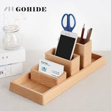 Desk Organizer Diy by Online Shop Juh A Set Selling In Diy Creative Wood Pen Holder Hand