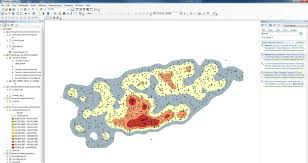 Map Point Map And Data Library University Of Toronto Arcmap Kernel Density