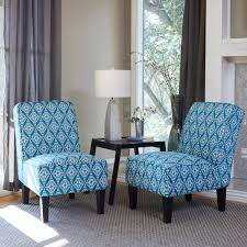 ballard fabric chair 2 pack blue