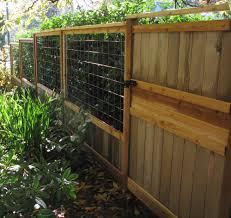 cedar art fence
