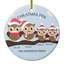 family of 4 ornaments keepsake ornaments zazzle