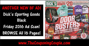 black friday 2016 ad scans u0027s sporting goods black friday 2016 ad browse all 16 pages