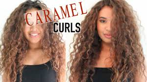 light brown curly hair dying my curly hair dark brown to light brown youtube