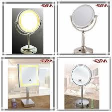 Unique Bathroom Mirrors by Magnifying Mirror With Light Unique Bathroom Mirrors Movable