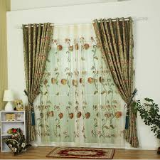 Curtains On Sale Polyester Fabric Green Curtains Sale For Bedrooms