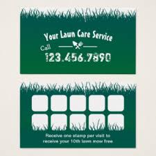 Mowing Business Cards Custom Lawn Maintenance Business Cards Zazzle Co Uk