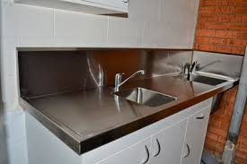 Stainless Steel Bench With Sink Custom Stainless Steel Fabricators Fixings Fittings U0026 Products