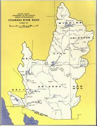 Map Of Colorado Cities by The Missing Colorado River Delta Rivers Borders And Maps