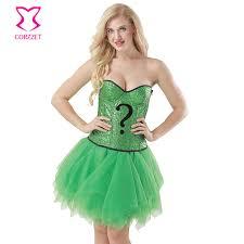 Green Tutu Halloween Costume Cheap Corset Halloween Costume Aliexpress