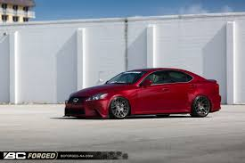 red lexus is 350 dan young u0027s lexus is350 bc forged north america