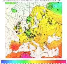 European Weather Map by Meteocentre Reading The Real Time Weather Portal For Reading And