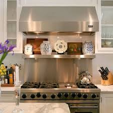 stainless kitchen backsplash wolf stainless steel backsplash fanabis