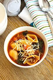 Italian Soup quick minestrone soup the complete savorist