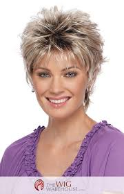 hairstyles for women oover 50 with fine frizzy hair the spunky christa by estetica designs features a short layered