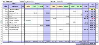 Excel Spreadsheet For Small Business Excel Cashbook For Easy Bookkeeping