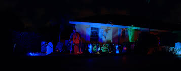 Halloween Stake Lights by Lighting Best Lighting Color For Cemetery