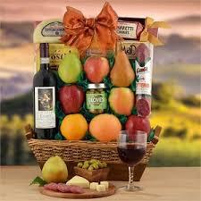 fruit gift baskets italian gourmet gift baskets italian chianti wine