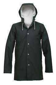 the classic swedish raincoat by stutterheim in arholma grà n the