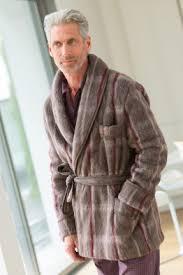 robe de chambre chaude pour homme robe de chambre veste croisée pour homme bernard solfin