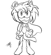 love will save the day warrior amy rose wip by edobean on deviantart