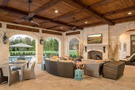 outdoor patio ceiling fans outdoor patio ceiling ideas patio traditional with stone walls