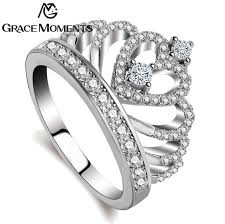 c rings fashion ring jewelry womens tiara rings wedding engagement c