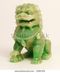 jade lion statue jade lion statue stock photo 13957129
