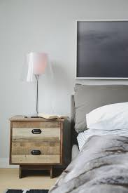 furniture colorful nightstands with unique design reclaimed