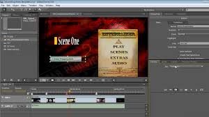 encore dvd menu templates learning encore cs5