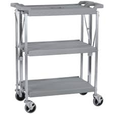 Folding Kitchen Cart by Carlisle Sbc152123 Fold U0027n Go 15
