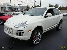 Porsche Cayenne White - 2009 sand white porsche cayenne turbo s 18154412 gtcarlot com
