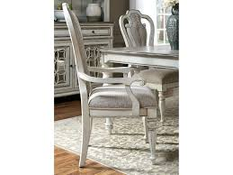 liberty furniture magnolia manor dining splat back arm chair with