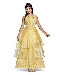 Spirit Halloween Costumes Belle Costume Deluxe U2014 Beauty Beast Movie 50