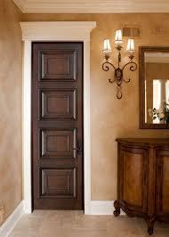 Solid Maple Interior Doors Interior Door Custom Single Solid Wood With Glh 500 Finish