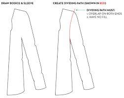 illustrator tutorial how to draw fashion flats blog