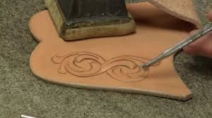 Knife Patterns Knife Sheath Making Part 6 How To Tool Leather Designs For Your