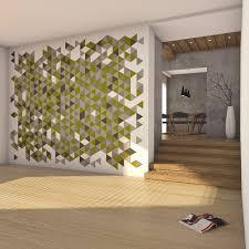 wohnraum wandgestaltung filz fliesen wände gestalten mit filz 100 natur felty